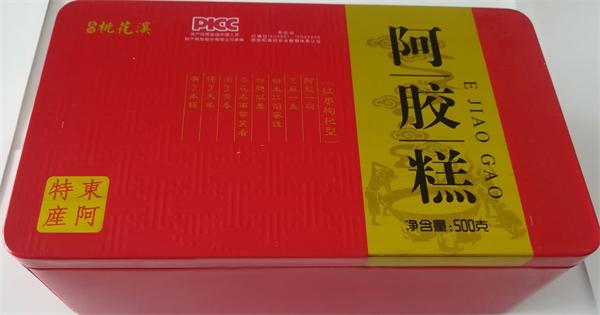 铁盒红枣枸杞阿胶糕500克